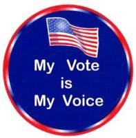 OR, No Vote; no voice!