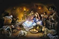 Religious Icon of Christmas