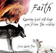 Faith overcomes fear!