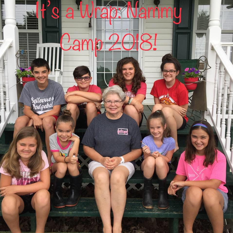 Nammy's Camp 2018